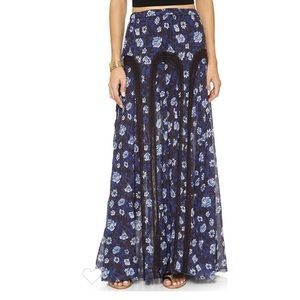 Free People Zoe Maxi Skirt